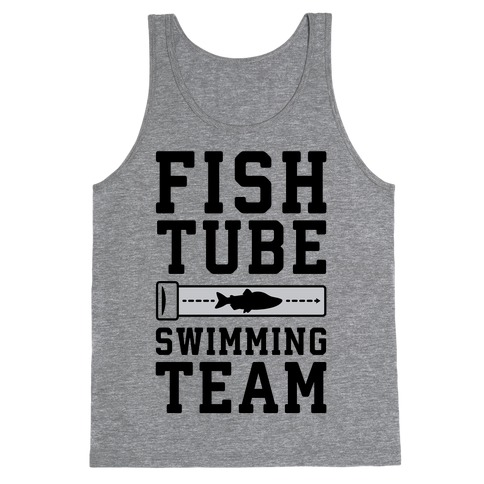 Fish Tube Swimming Team Tank Top