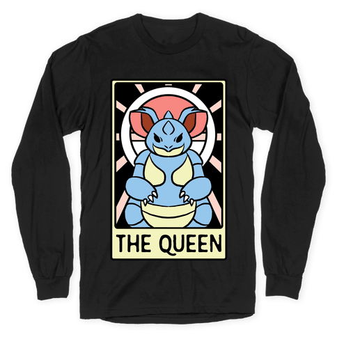 The Queen - Nidoqueen Long Sleeve T-Shirt