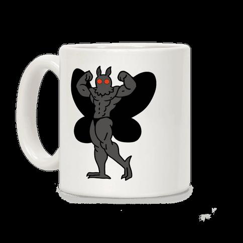 Buff cryptids: Mothman Coffee Mug
