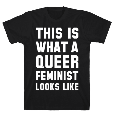 This is What a Queer Feminist Looks Like Alt Mens T-Shirt