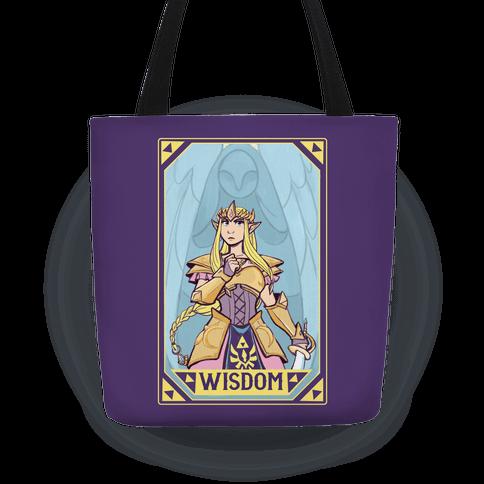 Wisdom - Zelda Tote