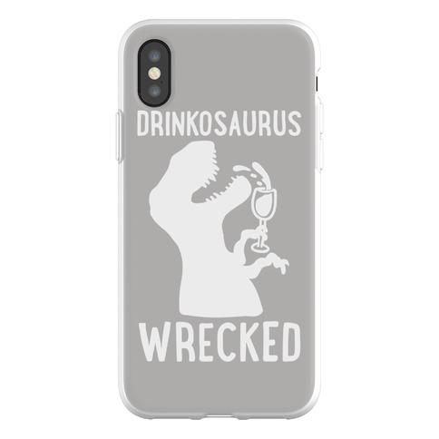 Drinkosaurus Wrecked Parody Phone Flexi-Case
