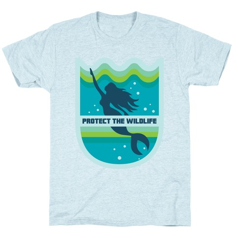 Protect The Wildlife (Mermaid) T-Shirt