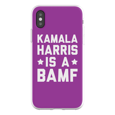 Kamala Harris Is A BAMF Phone Flexi-Case