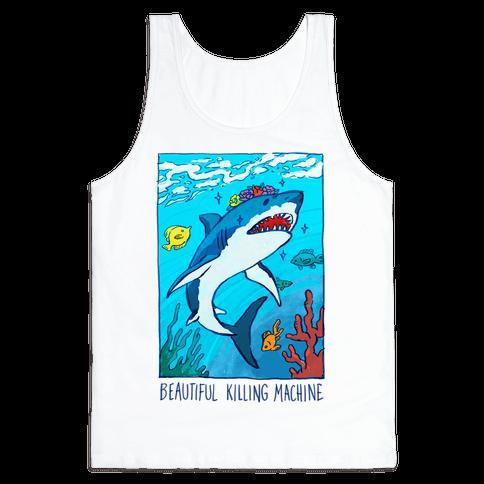 Beautiful Killing Machine Shark Tank Top