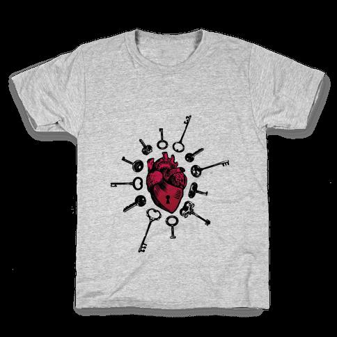 Keys To My Heart Kids T-Shirt
