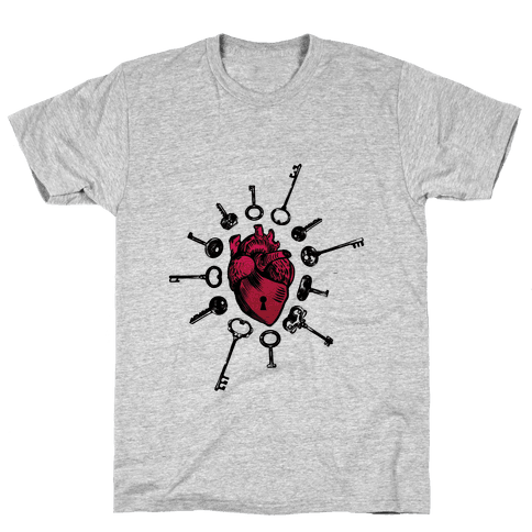 Keys To My Heart Mens T-Shirt
