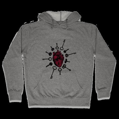 Keys To My Heart Hooded Sweatshirt