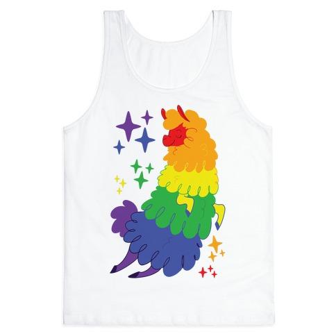 Gay Llama Tank Top
