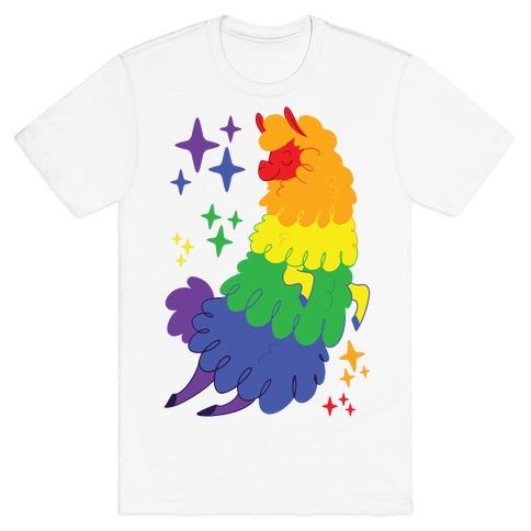 Gay Llama T-Shirt