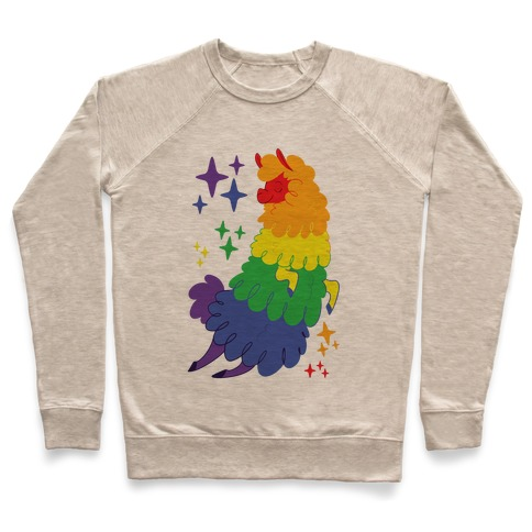 Gay Llama Pullover