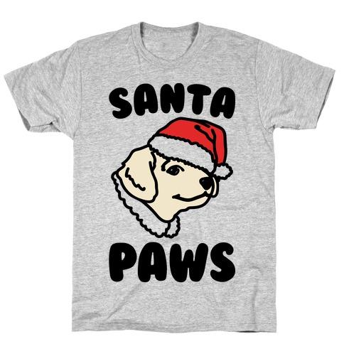 Santa Paws Mens/Unisex T-Shirt