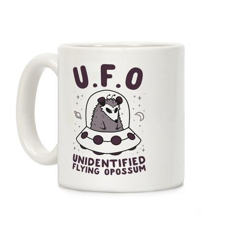 Unidentified Flying Opossum Coffee Mug