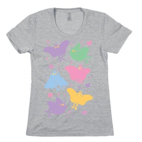 Cute Pastel Mothman Womens T-Shirt