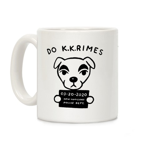 Do K.K.rimes KK Slider Parody Coffee Mug