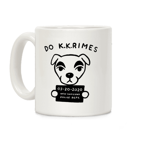 Do K.K.rimes KK Slider Parody Coffee Mug