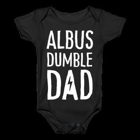 Albus Dumble Dad Baby Onesy