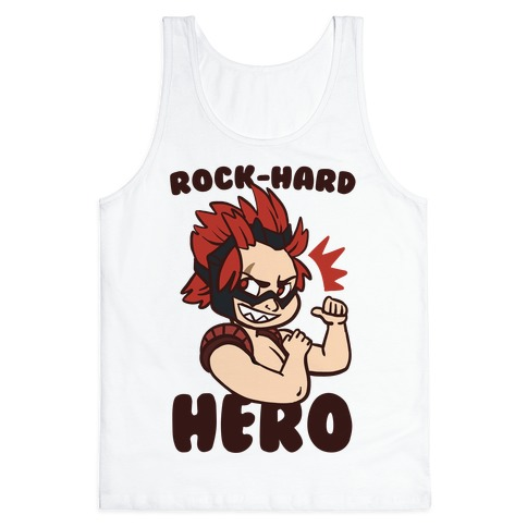 Rock-Hard Hero - Kirishima  Tank Top