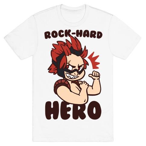 Rock-Hard Hero - Kirishima T-Shirt