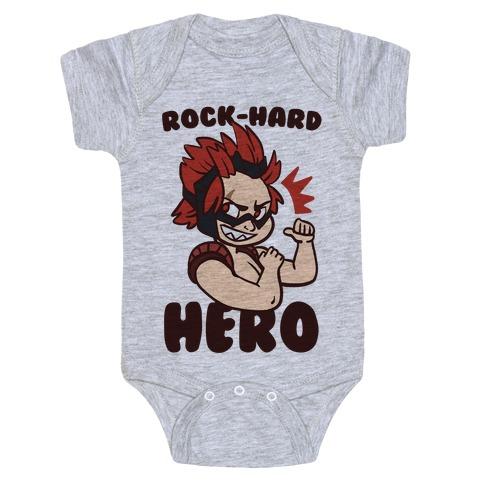 Rock-Hard Hero - Kirishima Baby Onesy