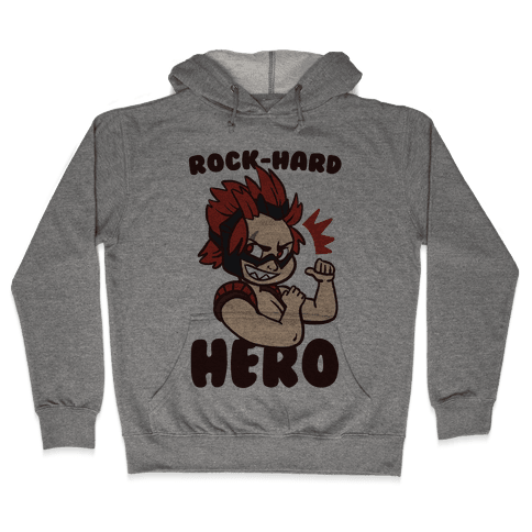 Rock-Hard Hero - Kirishima  Hooded Sweatshirt