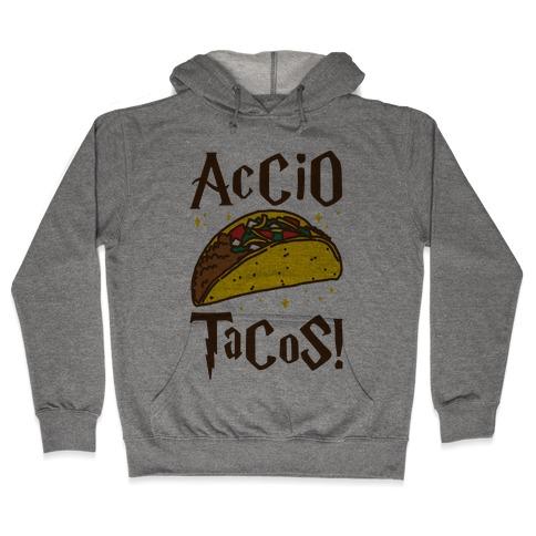 Accio Tacos Parody Hooded Sweatshirt