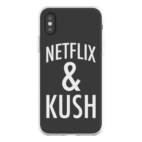 Netflix & Kush Phone Flexi-Case
