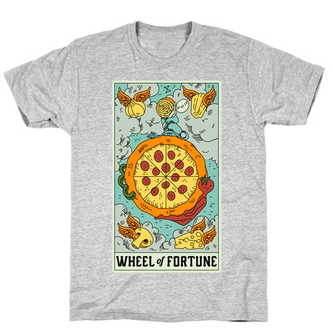 Wheel Of Fortune Pizza T-Shirt
