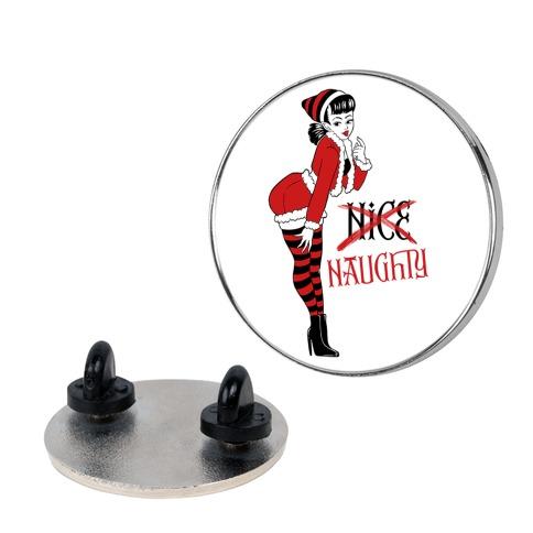 Naughty Elf Pin