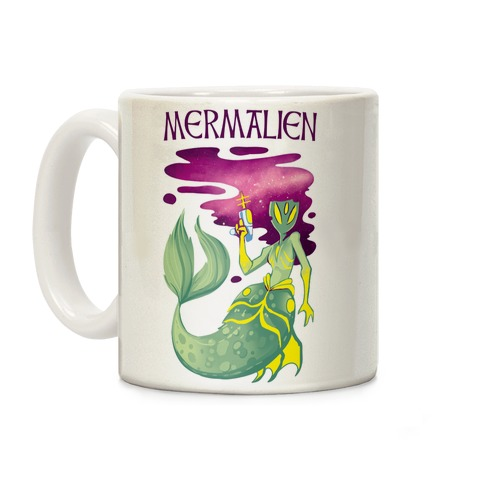 Mermalien Coffee Mug