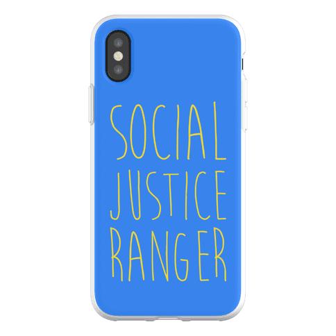 Social Justice Ranger Phone Flexi-Case