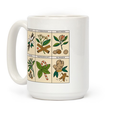 Holiday Spice Botanicals Coffee Mug