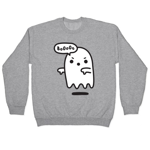 Disapproving Ghost Pullover