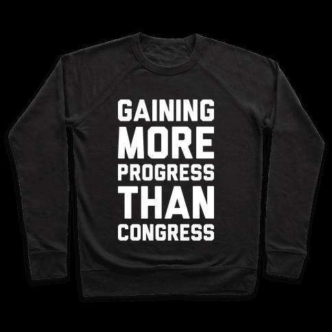 Gaining More Progress Than Congress Pullover