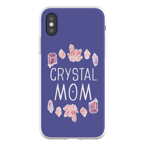 Crystal Mom Phone Flexi-Case