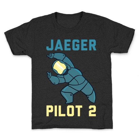 Jaeger Pilot 2 (1 of 2 Pair) Kids T-Shirt
