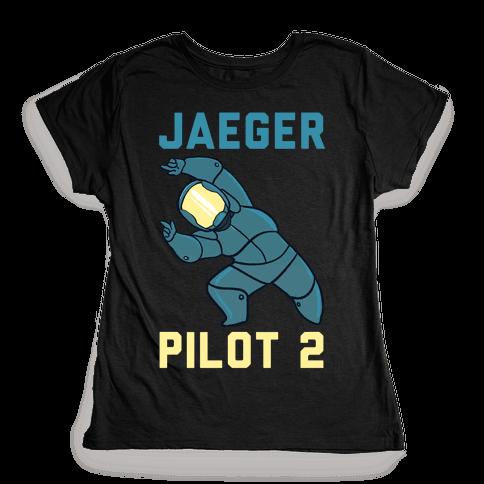 Jaeger Pilot 2 (1 of 2 Pair) Womens T-Shirt