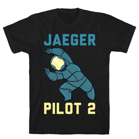 Jaeger Pilot 2 (1 of 2 Pair) Mens T-Shirt
