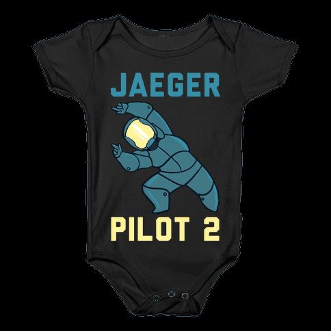 Jaeger Pilot 2 (1 of 2 Pair) Baby Onesy