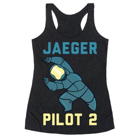 Jaeger Pilot 2 (1 of 2 Pair) Racerback Tank Top