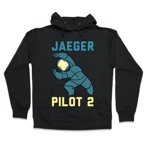 Jaeger Pilot 2 (1 of 2 Pair) Hooded Sweatshirt