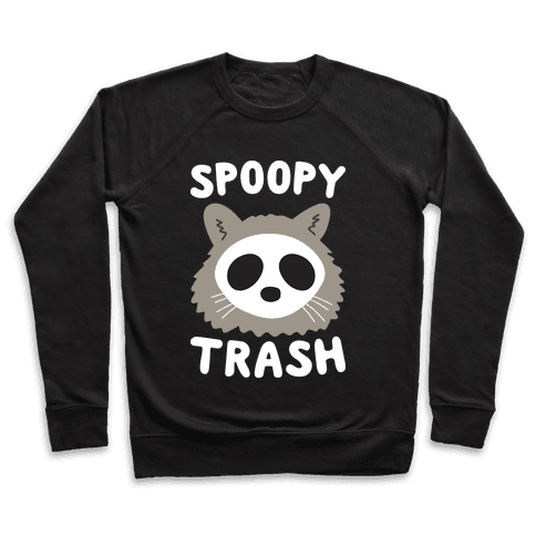 Spoopy Trash Raccoon Pullover