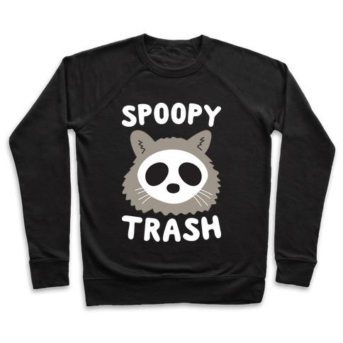 Spoopy Trash Raccoon Pullover