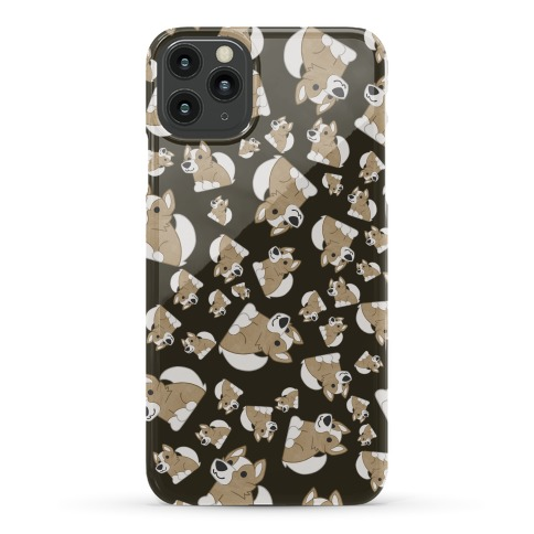 Corgi Pattern Phone Case
