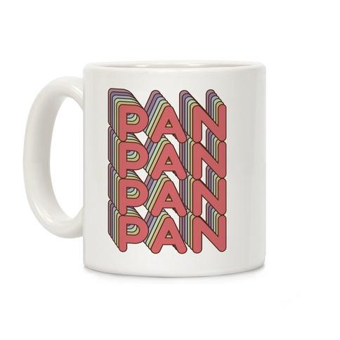 Pan Retro Rainbow Coffee Mug