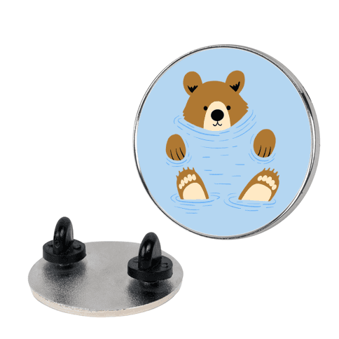 River Bear Pin