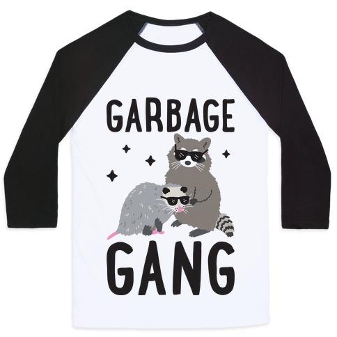 Garbage Gang Baseball Tee
