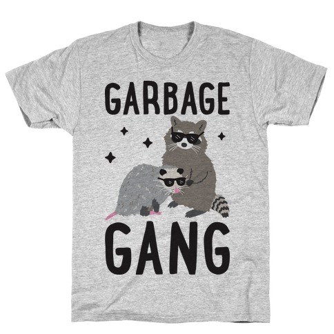 Garbage Gang Mens T-Shirt