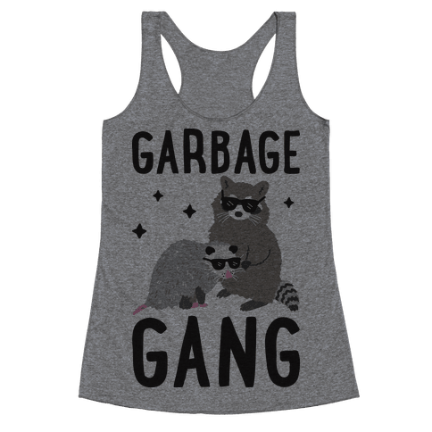 Garbage Gang Racerback Tank Top