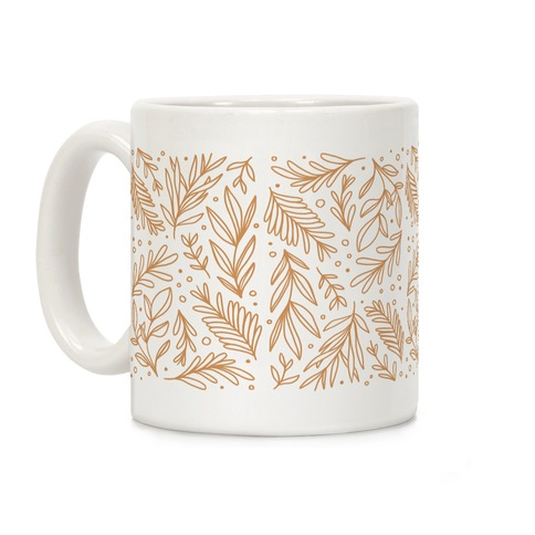 Tan Botanicals Coffee Mug